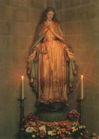 De Madonna van Berne in de Catharinakerk in Harderwijk