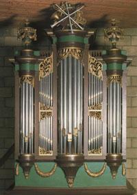 Het orgel van de Catharinakerk in Harderwijk
